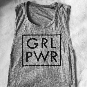 Girl Power Muscle Tank